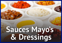 Sauces, Mayo's and Dressings